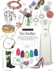 Rayne in Wedding Magazine UK